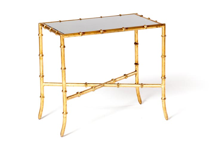 Bamboo End Table - EventHaus Rentals