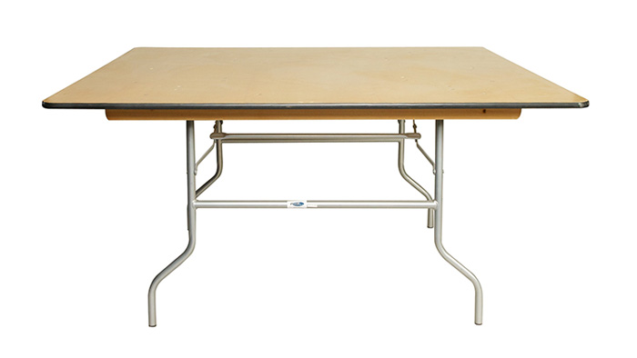 5 39 square folding table eventhaus rentals for Table th nth